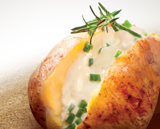 Baked Potato with Président® Creamy Brie