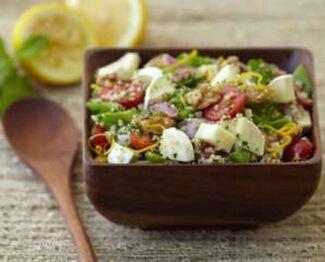 Président® Brie Couscous Salad