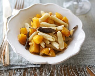 Brown Butter Pumpkin Pasta with Don Bernardo® Manchego