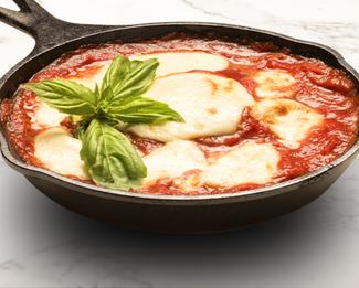 Donatella's Cast-Iron Eggplant Parm Featuring Galbani® Cheese