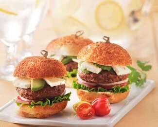 Feta Slider / Burger