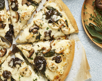 Galbani® Bel Paese Pizza with Chicken & Mushrooms