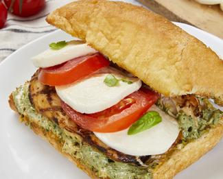Galbani® Chicken Pesto Caprese Sandwich