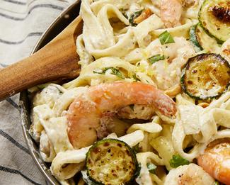 Galbani® Creamy Shrimp Scialatielli