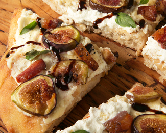 Galbani® Fig & Pig Pizza