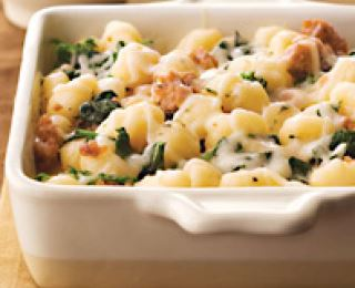 Galbani® Gnocchi with Italian Sausage, Mozzarella, and Rapini