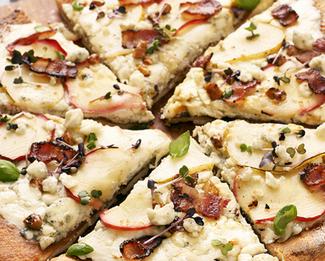 Galbani® Gorgonzola Apple Pear Pizza