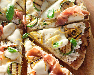 Galbani® Grilled Summer Pizza