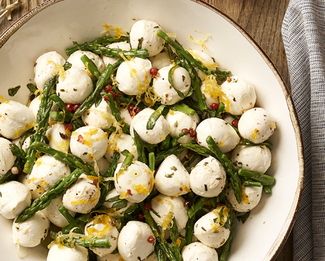 GALBANI® HOUSEMADE MARINATED CILIEGINE WITH ASPARAGUS TIPS