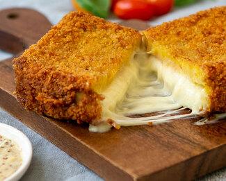 Galbani® Mozzarella In Carrozza (Fried Mozzarella Sandwiches)