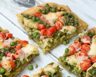 Galbani® Pea Pesto Pizza