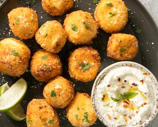 Galbani® Ricotta Fritters with Marinara