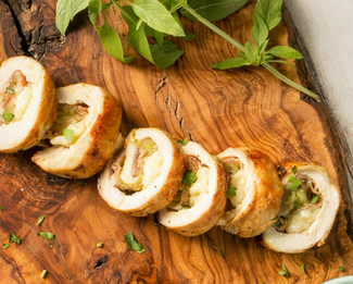 Galbani® Stuffed Chicken Roulades