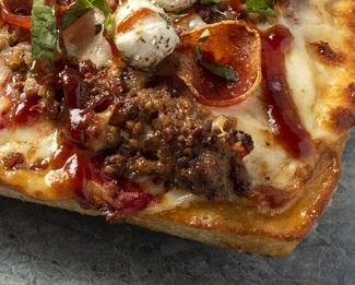 """Hog Heaven"" Pizza by Chef Lenny Rago"