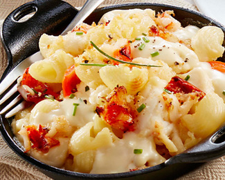 Lobster Mac & Brie with Président® Creamy Brie