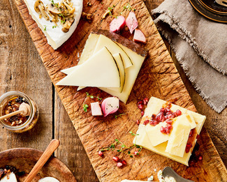 The Autumn Cheese Plate