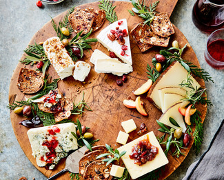 The Holiday Cheese Plate