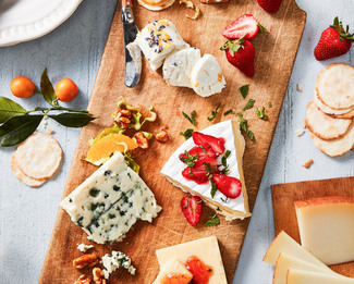 The Spring Cheese Plate