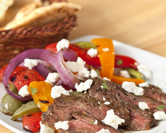 Southwest Steak Salad with Feta