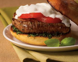 Tenderloin Caprese Sandwich featuring Galbani® Fresh Mozzarella