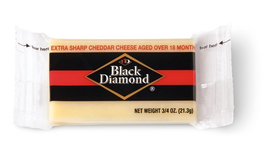 Black Diamond 100/0.75 OZ ONE-YEAR WHITE CHEDDAR PORTIONS