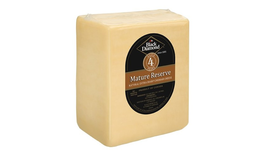 Black Diamond 2/5 LB FOUR-YEAR WHITE CHEDDAR UNWAXED LOAF