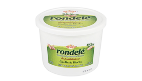 Président 2/2.5 LB RONDELÉ GARLIC & HERB GOURMET SPREADABLE CHEESE