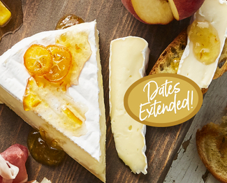 Get up to $500 back on the #1 Brie in France & the US