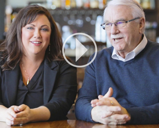 See why John and Jacque Farrell choose Galbani
