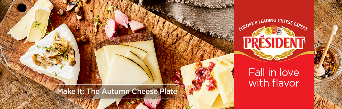 President Autumn Cheese Plate